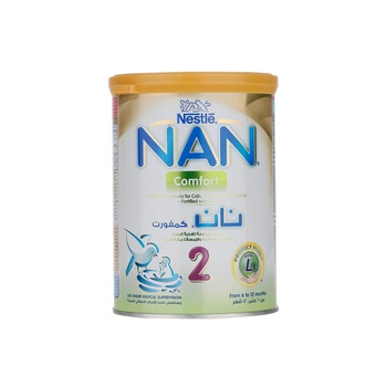 Nan Comfort 2ltr Leb034 Tin 12X400G