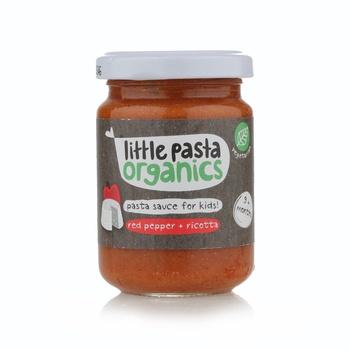 Little Pasta Organics Red Pepper &Ricotta 130g