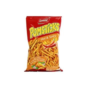 Lorenz Pomsticks Hot & Spicy 100g
