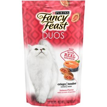 Purina Fancy Feast Duos Salmon Cat Food - 60g
