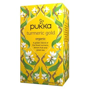 Pukka Organic Turmeric Gold Tea Bag 20X1.8G