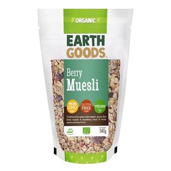 Earth Goods Organic Gluten-Free Berry Muesli 340g