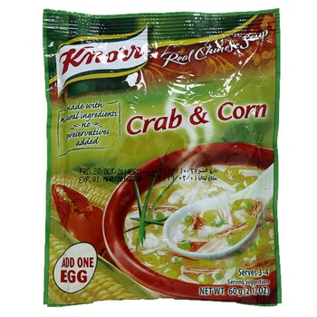 Knorr Crab & Corn Chinese Soup 60g
