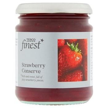 Tesco Finest Strawberry Conserve 340g
