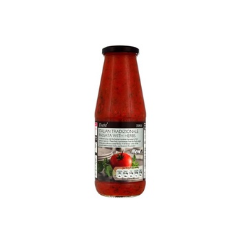 Tesco Italian Passata With Garlic & Herbs 500g