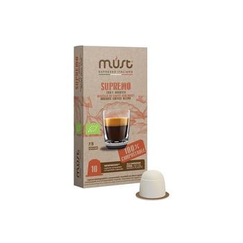 Must Espresso Italiano Supremo 50g - 10 Nespresso Capsule