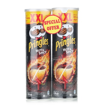 Pringles Hot & Spicy 2x200g