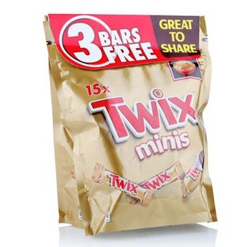Twix Minis 2 x 300g