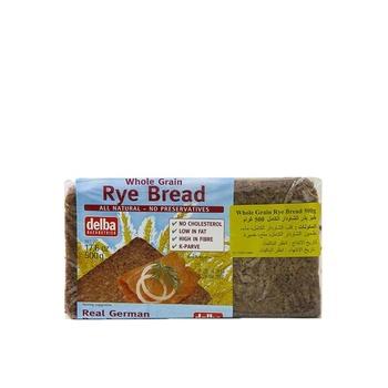 Delba Whole Grain Rye Bread 500g