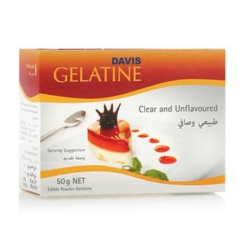 Davis Gelatine Powder 50g