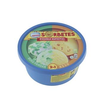 Nestle Sorbetes Doble Espesyal Buko Pandan 1 ltr