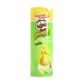 Pringles Potato Chips Sour Cream & Onion 165g