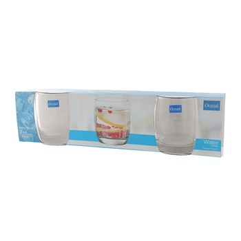 Ocean Ivory Rock 11Oz Tumbler 3 Pc Set