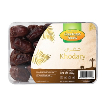 Goodness Foods Khudri Dates 400g