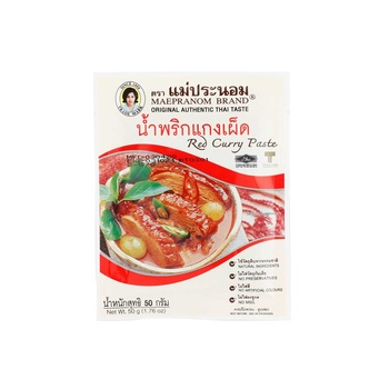 Maepranom Red Curry Paste 50g