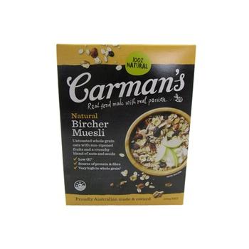 Carman'S Natural Bircher Muesli 500g