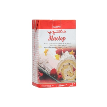 Mactop Whipping Cream  1Ltr