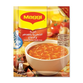 Maggi Soup Tomato With Noodle 60g