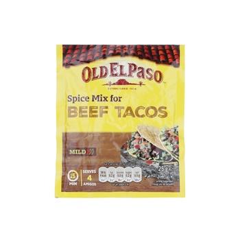 Old El Paso Spice Mix Beef Tacos 25g