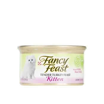 Purina Fancy Feast Kitten Tender Turkey Feast 85g