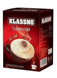 Klassno Cappuccino Gold 8X18g