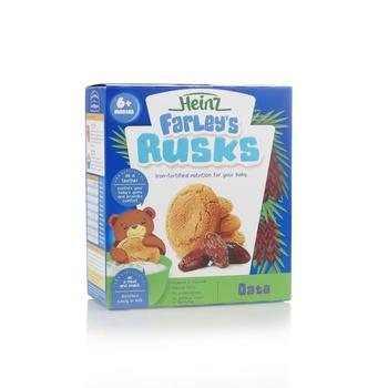 Heinz Farleys Date Rusks Milk Based 6+ Months 300g