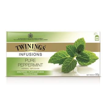 Twinings Pure Peppermint Tea Bag 25s