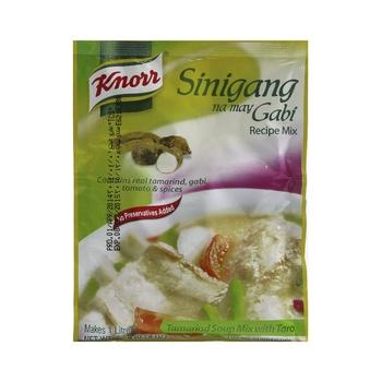 Knorr Sinigang Gabi Tamarind Soup Mix 22g