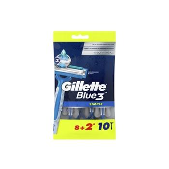 Gillette Blue Simple3 8+2