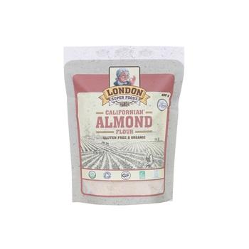 London Super Foods Almond Flour Organic & Gluten Free 400gm