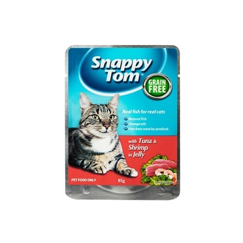 Snappy Tom Tuna And Shrimp In Jelly 85G