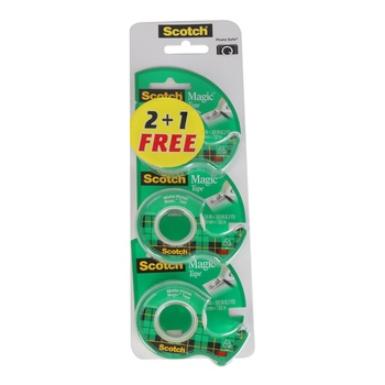 3M Scotch Magic Tape 105 Value Pack 2+1