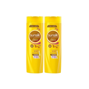 Sunsilk Nourishing Soft & Smooth Shampoo 400ml Pack of 2