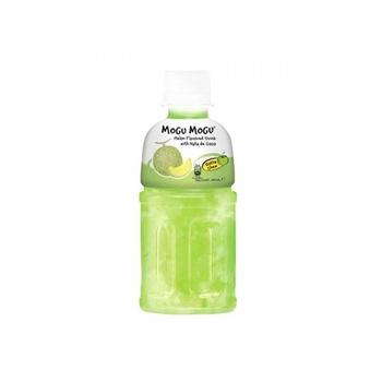 Mogu Mogu Melon Flavored Drink with Nata De Coco 320g