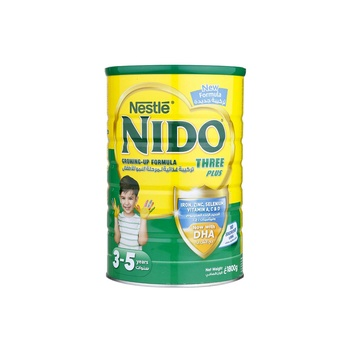 Nestlé NIDO Three Plus Growing Up Milk Powder Tin For Toddlers 3 5 Years 1800g