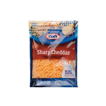 Kraft Sharp Cheddar Cheese Natural Shreded 225g