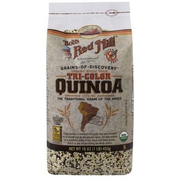 Bobs Red Mill Tri Color Quinoa Grain 454g