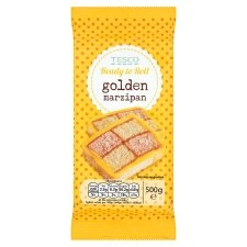 Tesco Golden Marzipan 500g