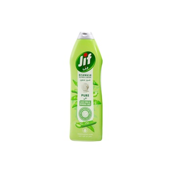 Jif Pure Hiking Dishwashing Liquid Aloe Vera & Mineral Salt 750ml
