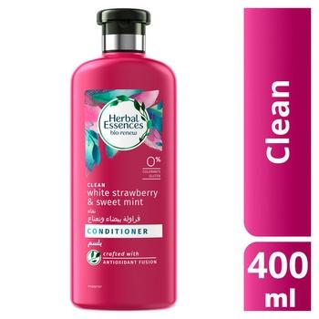 Herbal Essences Bio:Renew Clean White Strawberry & Sweet Mint Conditioner 400ml