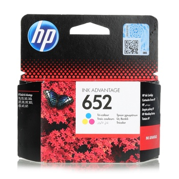 HP Cartridge - 652  TRICOLOR
