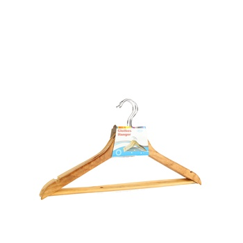 Wooden hangers 3 pc set