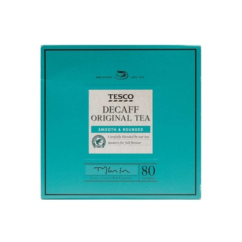 Tesco Decaffenated Tea Bags 80's