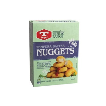 Tegel Tempura Chicken Nuggets 380g