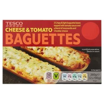 Tesco Cheese & Tomato Baguettes 260g
