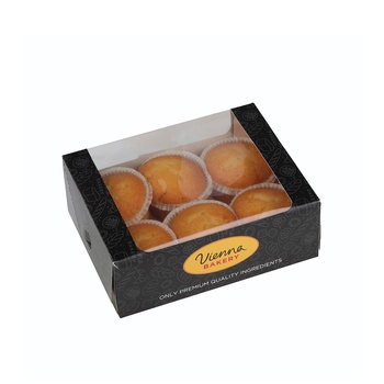 Vienna Bakery Vanilla Muffin 6 Pieces
