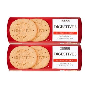 Tesco Digestives 2 x 400g