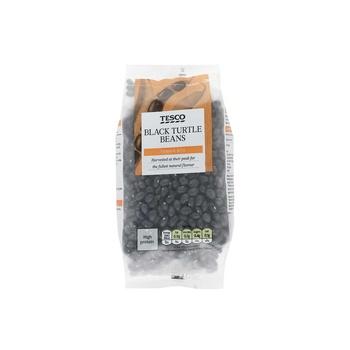 Tesco Whole foods Black Turtle Beans 500g