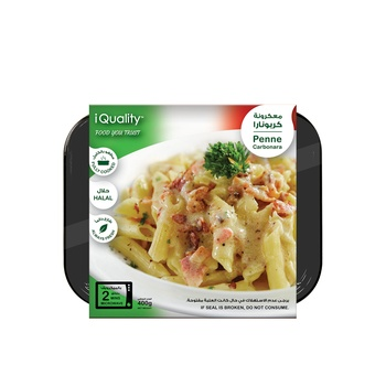 iQuality Penne Carbonara 400g