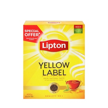 Lipton Tea Packet 400gm @ Special Price